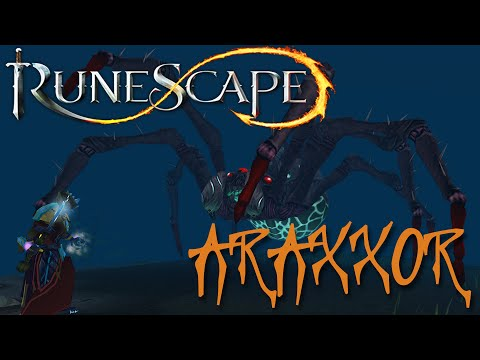 RuneScape 3: First attempt to kill Araxxor (Boss Release day) – Eek! Spiders! [HD Gameplay Preview]