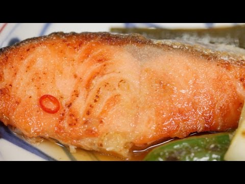 Salmon Yakizuke Recipe | Cooking With Dog