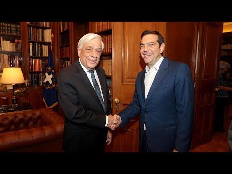 Στον Πρόεδρο της Δημοκρατίας ο Αλέξης Τσίπρας για την διάλυση της Βουλής…