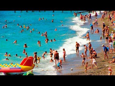 пляжи судака в крыму видео