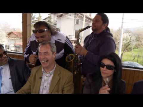 bulgaria - Channel 4 News takes Nigel Farage, the outspoken leader of Ukip, on a trip to Bulgaria to find out if his fears about an influx of immigrants when EU restric...