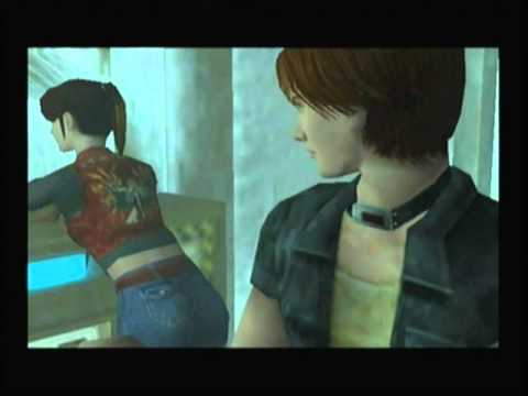 Let's Play Resident Evil Code: Veronica X Part 22 Bloody Moths!