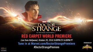 Nonton Marvel S Doctor Strange Red Carpet Premiere Film Subtitle Indonesia Streaming Movie Download