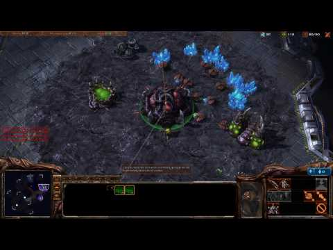 HD Starcraft 2 Beta Gameplay
