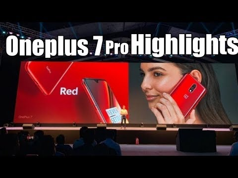 OnePlus 7 Pro First Look & Event Highlights In 7 Min