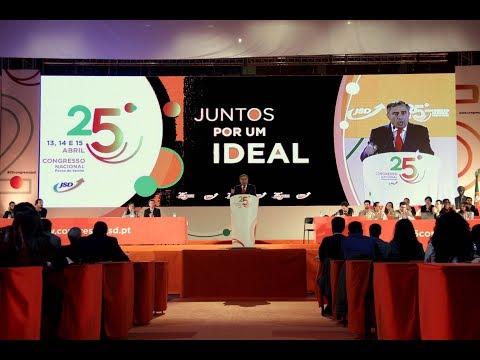 Intervenção de José Silvano na abertura do 25.º Congresso da JSD
