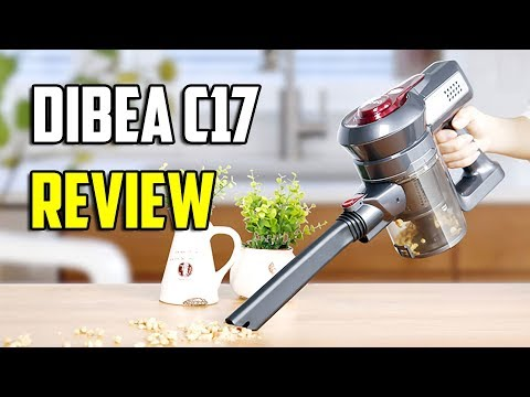 Dibea C17 Cordless Vacuum Cleaner Review - Best Dyson V8 Clone?