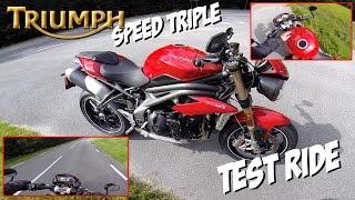 5. 2016 Triumph Speed Triple test ride