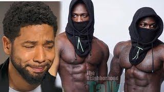 Jussie MENS are caught - they were hired by Lee Daniels AS ACTORS  once upon a time