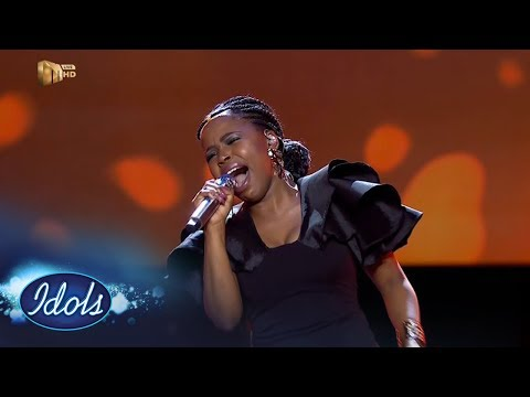 Top 8 Reveal: Yanga - 'Try Sleeping With A Broken Heart' –  Idols SA | Mzansi Magic
