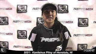 2021 Kanilehua Pitoy Third Base and Outfield Softball Skills Video - Easton Preps