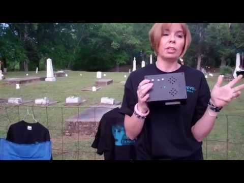 ★Ghost Hunting Equipment Demonstration Video★Mystic Paranormal Interview | Cemetery Aberdeen, MS