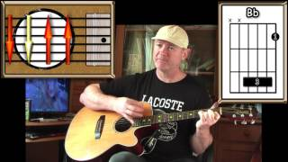 Download Lagu In The Air Tonight - Phil Collins - Acoustic Guitar Lesson (easy) Mp3