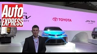 Toyota Fuel Cell Concept at the Tokyo Motor Show - Auto Express