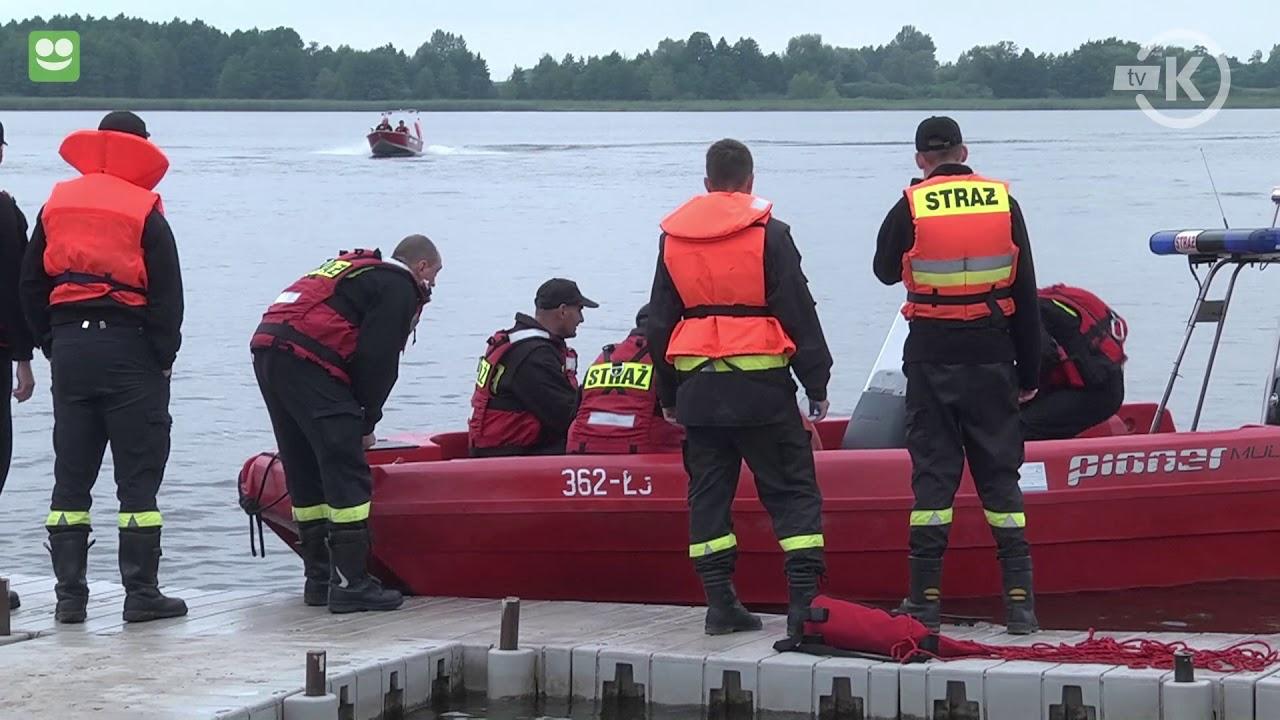 Ćwiczenia w ratownictwie wodnym. Brdów 2017