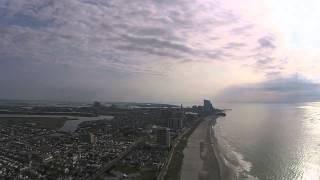 Flying My DJI Phantom 2 Vision + Drone In Atlantic City, New Jersey