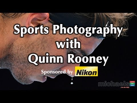 Sports Photography Secrets with Press Photographer Quinn Rooney from Getty Images @ michaels