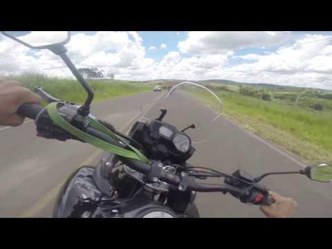 Trecho de Igaraí a Mococa - YAMAHA Teneré XTZ 250 | BMW GS 800 | BMW S1000RR