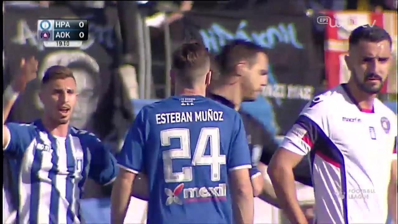 Football League ΗΡΑΚΛΗΣ – ΚΕΡΚΥΡΑ 1-0 | ΓΚΟΛ | ΕΡΤ
