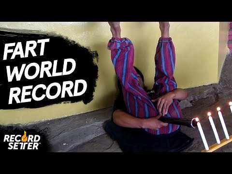 VIDEO: Man Sets World Record For Blowing Out Candles With Farts