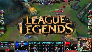 Best Plays of EU&NA LCS Summer 2015!
