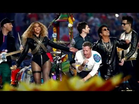 Coldplay encendió el Super Bowl