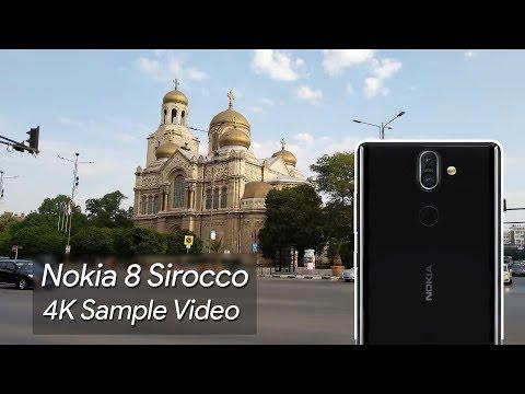 Nokia 8 Sirocco 4K Sample Video