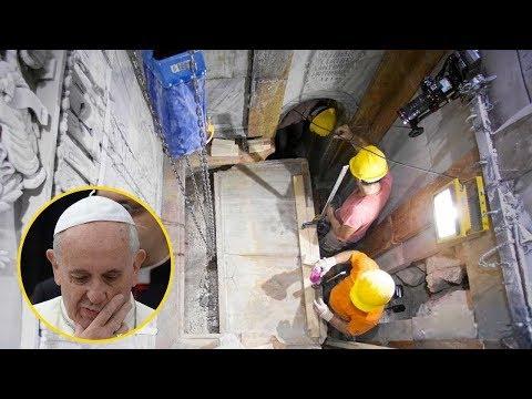 O Vaticano finalmente abriu a tumba de Cristo!