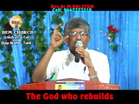 The God Who Rebuilds part 1