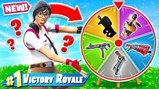 RANDOM WHEEL of WEAPONS *NEW* Creative Game Mode in Fortnite Battle Royale