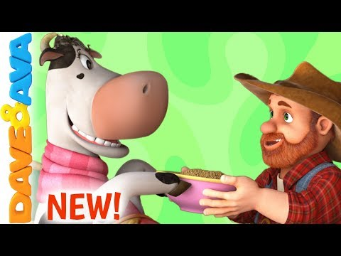 🤠Farmer Brown's Cow | Baby Songs | Nursery Rhymes by Dave and Ava 🤠