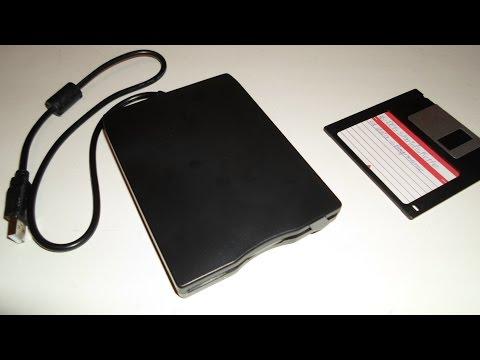 Externes Floppy-Laufwerk mit USB-Anschluss