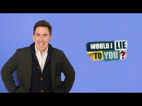 Rob's Ride on Would I Lie to You? [Rob Brydon Compilation] [CC]
