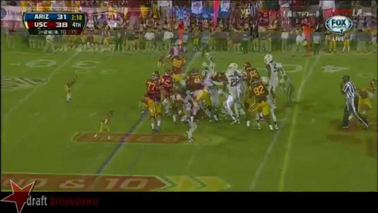 Aundrey Walker vs Arizona (2013)