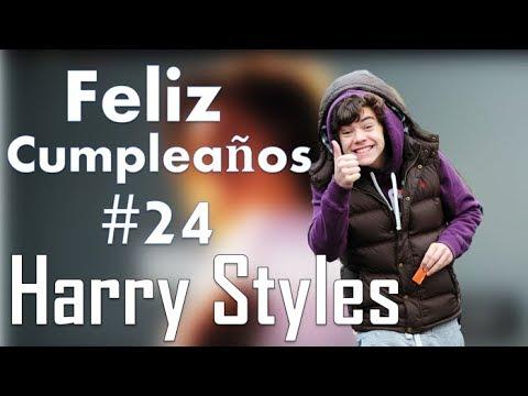 Videos graciosos - Feliz cumpleaños #24 Harry