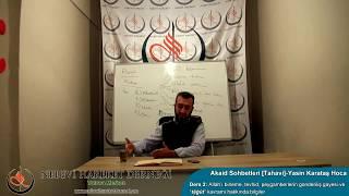 Tahavi Akidesi-Akaid Dersleri 02: Allah'a İman, Tevhid, Tağut ve Peygamberlerin Gönderiliş Gayesi
