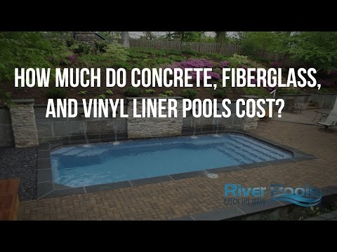 How Much Do Concrete, Fiberglass, and Vinyl Liner Pools Cost?