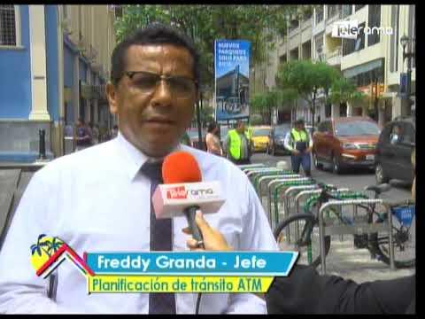 Nuevos parqueos de bicicletas en el centro de Guayaquil