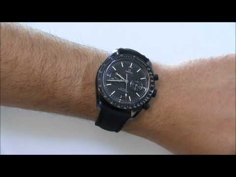 Omega Speedmaster Dark Side Of The Moon Black Ceramic Watch Review