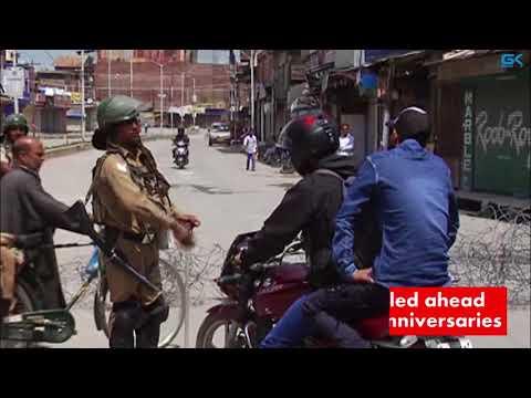 Downtown Srinagar areas sealed ahead of Moulvi Farooq, Gani Lone anniversaries