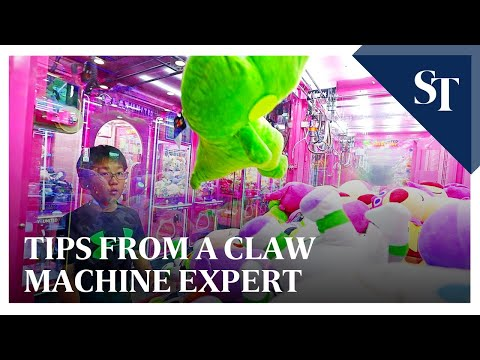 Tips from a claw machine expert | The Straits Times