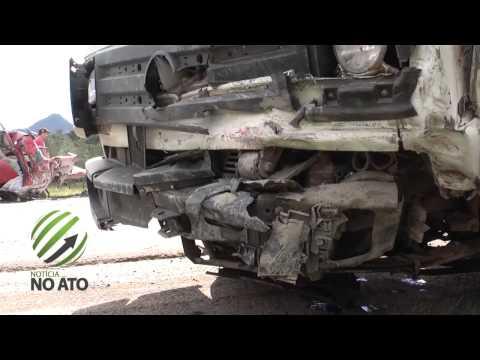 Otaciliense morre em colisão frontal na BR-470 em Ponte Alta