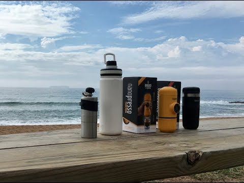 Brew and Review: Nanopresso Beach Day! -