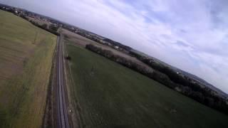 RC Airplane (FPV) Flight (part 1) - Dálkově řízený Let (z Pohledu Pilota) Modelem Letadla