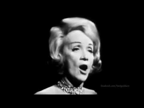 Marlene Dietrich: Where Have All the Flowers Gone? (Live TV, 1963)