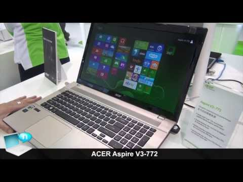 ACER Aspire V3-772, powerful notebook (Haswell, Full HD, GeForce GTX 760M)