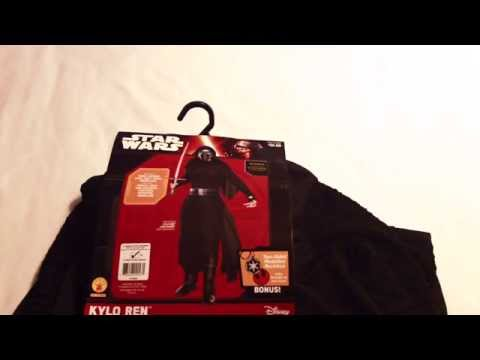 Target Kylo Ren Costume from STAR WARS THE FORCE AWAKENS
