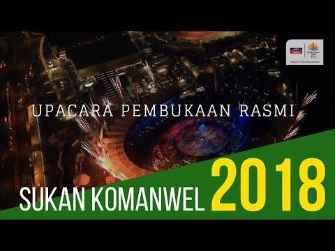 Upacara Pembukaan Rasmi | Sukan Komanwel 2018 | Astro Arena