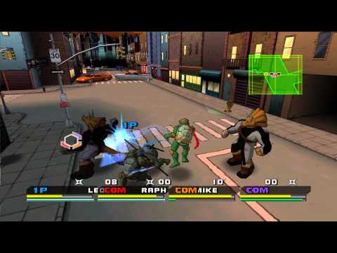 Teenage Mutant Ninja Turtles 3 : Mutant Nightmare Playstation 2