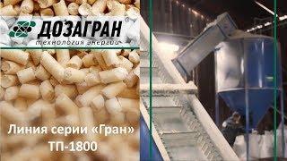 Видео Линии по производству топливных гранул из отходов столярных производств ТП